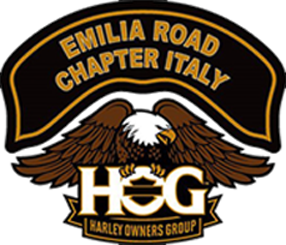 Logo Emilia road Chapter italy